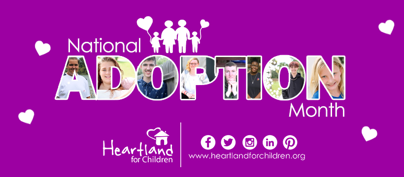 November is Adoption Month