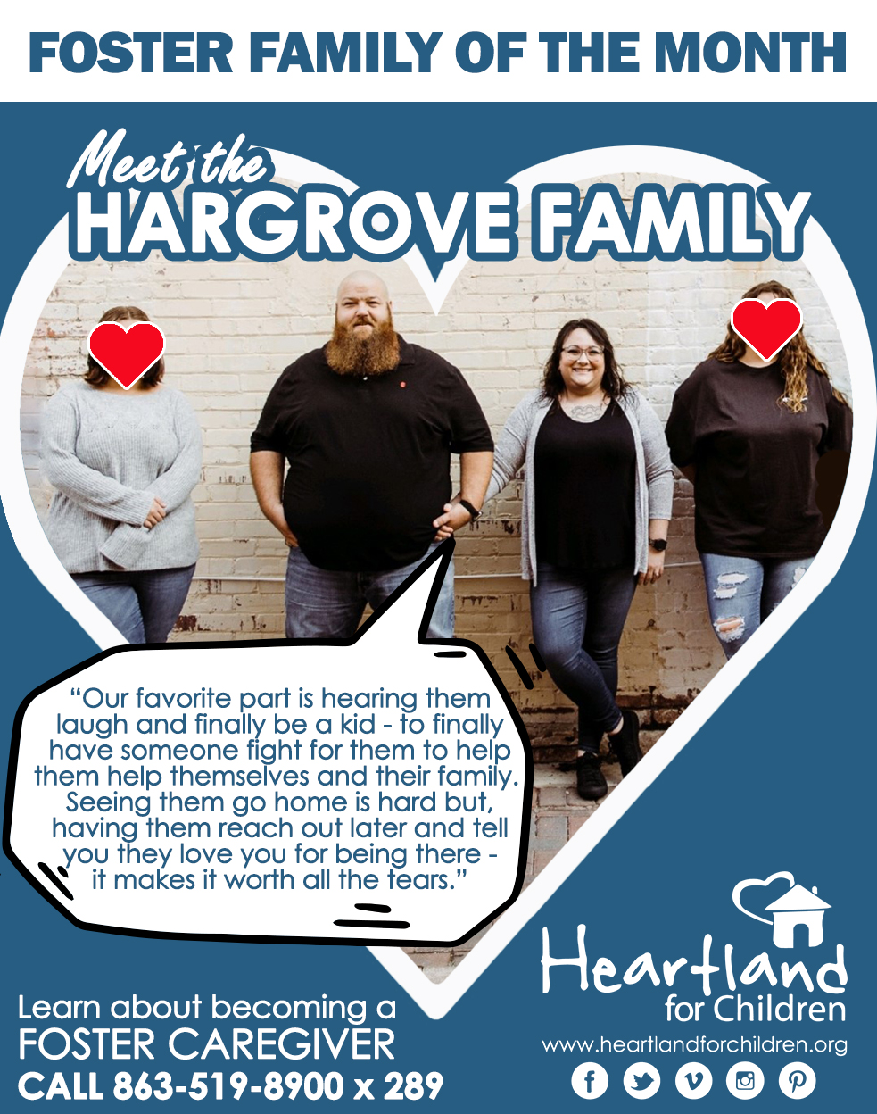 Foster Family of the Month: Hargrove
